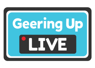 Geering Up Live Logo